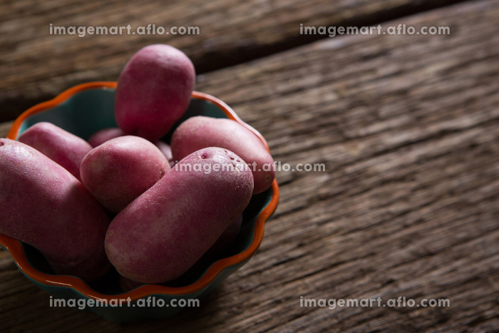 Sweet potatoes in a bowl