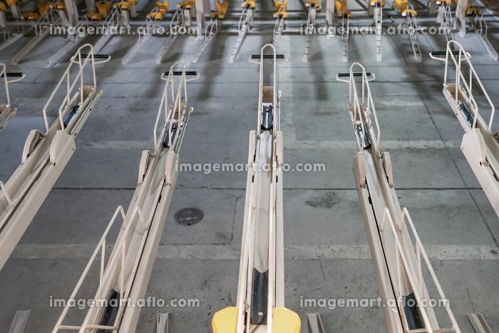 屋内の効率化された自転車置き場の販売画像