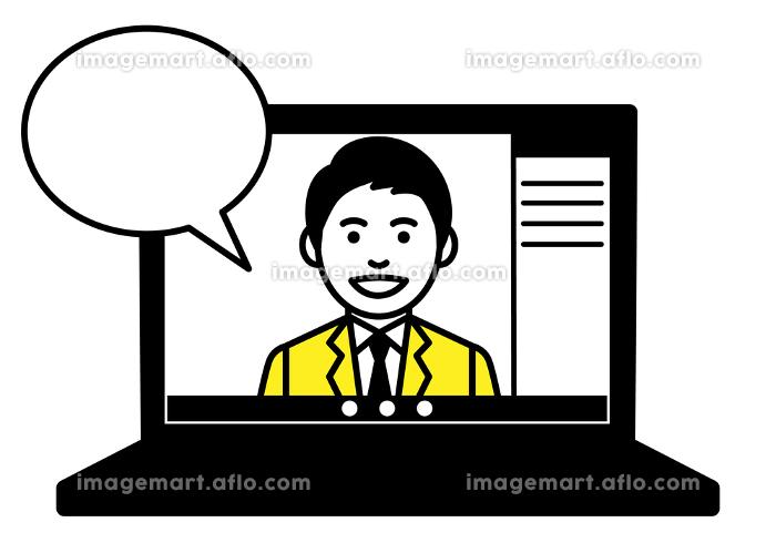 リモートワーク ノートパソコン web会議の販売画像