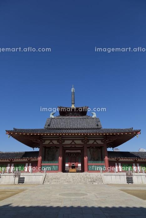 四天王寺中門と五重塔の販売画像