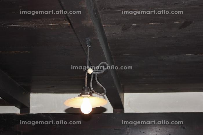 昔懐かしい室内の白熱電球の販売画像