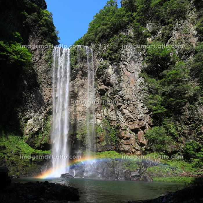 福貴野の滝と虹の販売画像