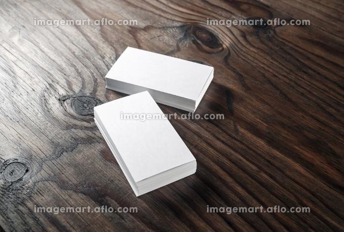 White business cardsの販売画像