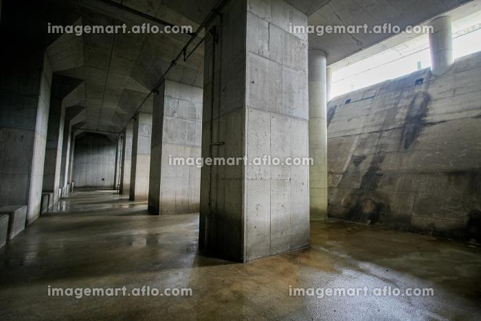 洪水から街を守る防災施設、荏原調節池(品川区・東京)の販売画像