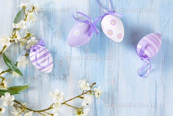 Easter eggs frame.の販売画像