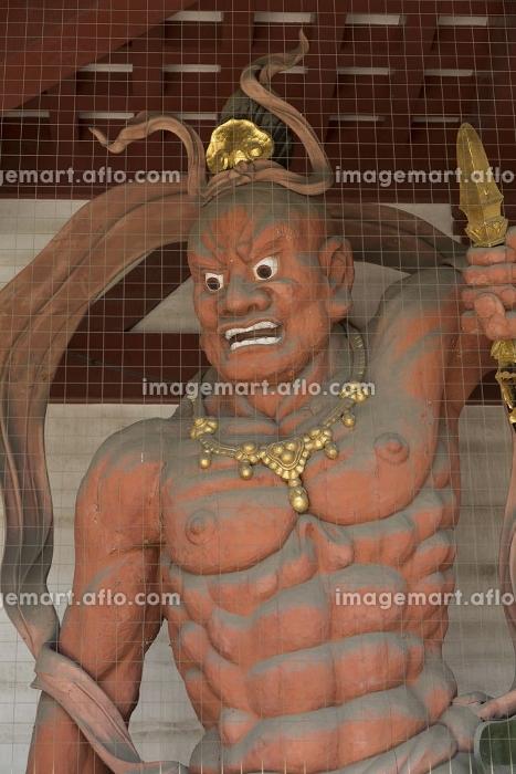 四天王寺中門の金剛力士像の販売画像