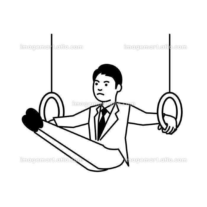 スポーツ 男性 体操の販売画像