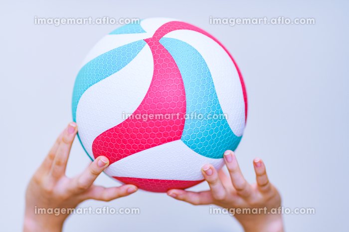 バレーボール 【スポーツ・部活のイメージ】の販売画像