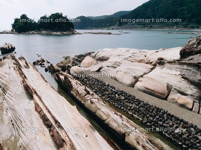 波食や風食によって形成された特殊な海岸の販売画像