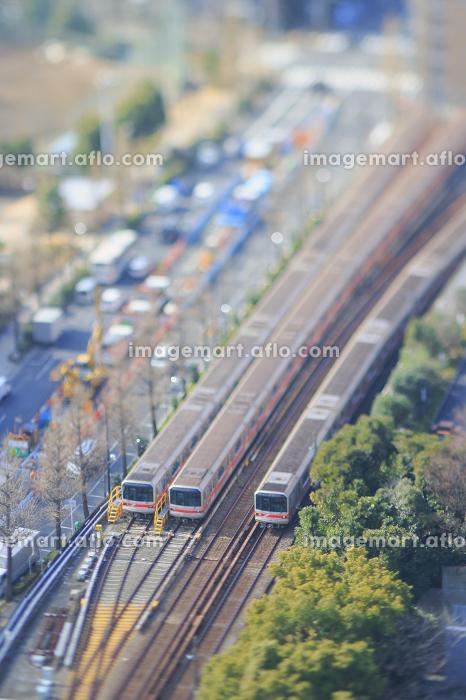 地下鉄丸ノ内線のジオラマの販売画像