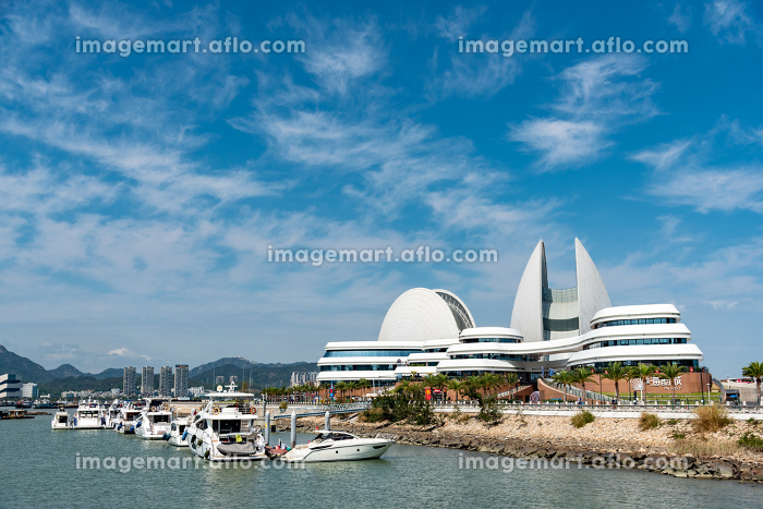 中国 珠海市のオペラハウスの販売画像