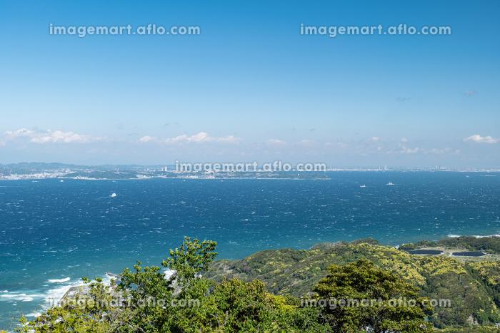 初夏の千葉県鋸山山頂からの眺め 5月の販売画像