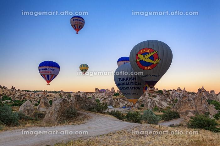 トルコ・カッパドキアの気球の販売画像