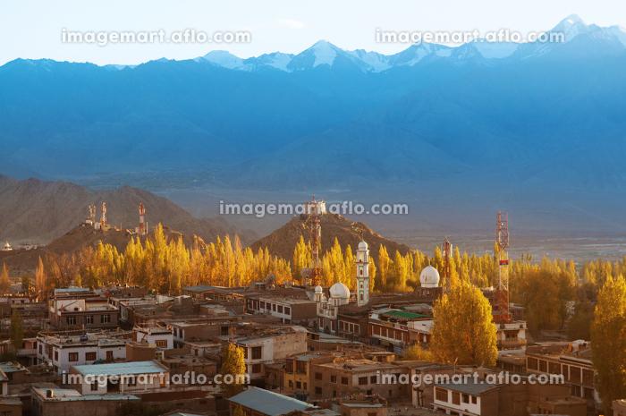 Leh city Ladakh Northern Indiaの販売画像