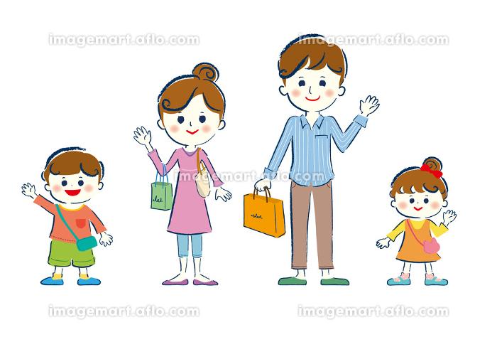 ファミリー、家族、笑顔、人物、ライフスタイル・生活、生活、の販売画像