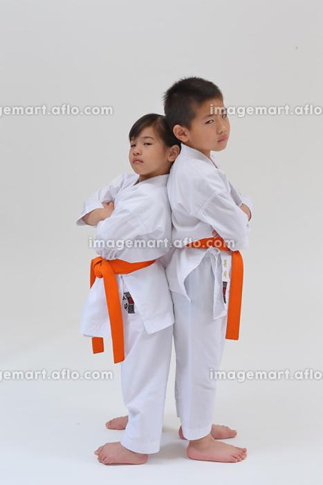 空手着の子供の販売画像