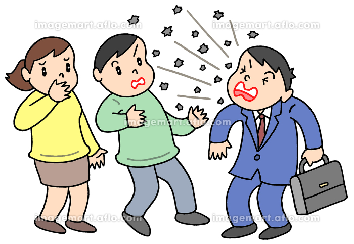 くしゃみ・咳による飛沫の販売画像