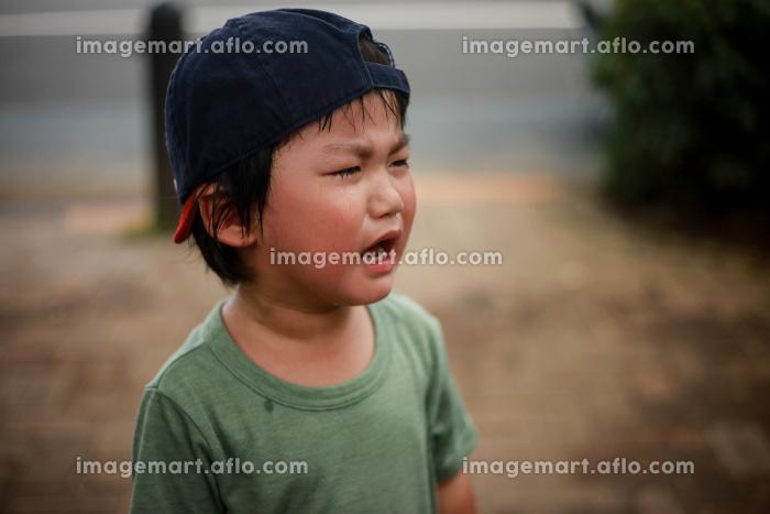 泣く男の子の販売画像