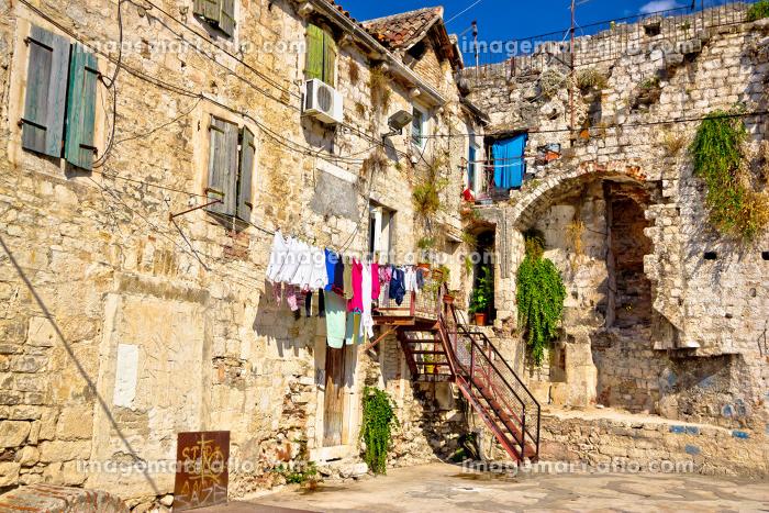 Historic old streets of Split centerの販売画像