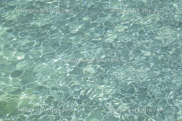 大露天風呂の水面