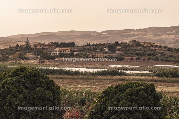 Sicilian village on the hillの販売画像