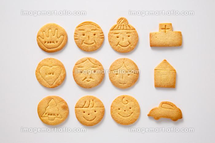 顔型クッキーの販売画像