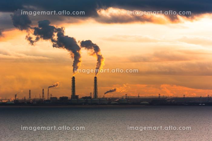 東京湾アクアライン・海ほたるPAからの風景の販売画像