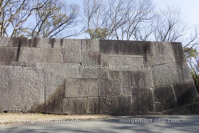 大阪城京橋口枡形の巨石の販売画像