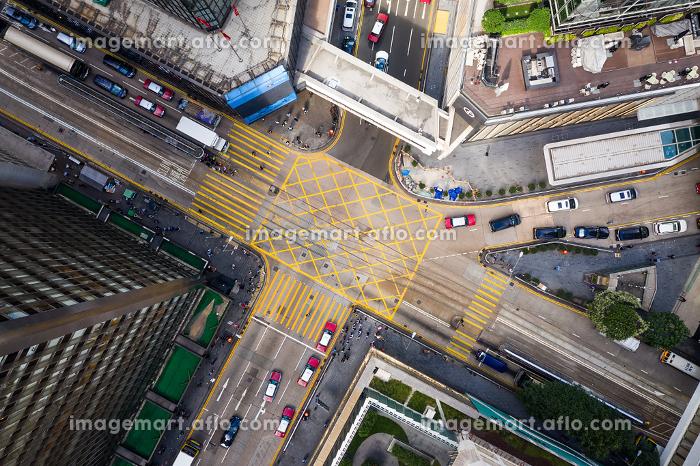 Central, Hong Kong - 01 November 2018 : Hong Kong business districtの販売画像