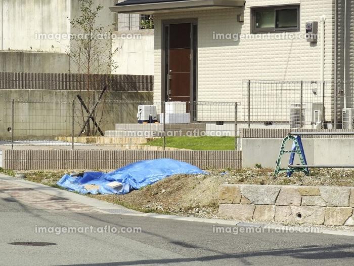 住宅の新築工事の販売画像