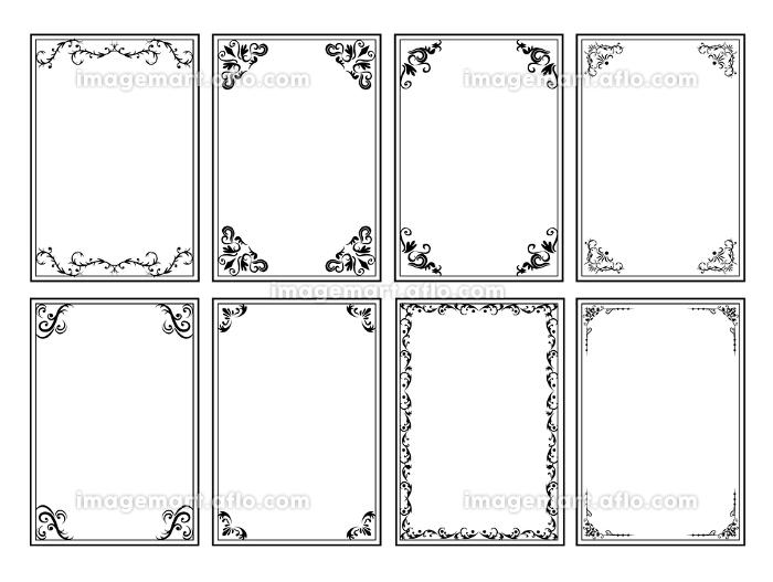 飾り枠 フレーム 枠の販売画像