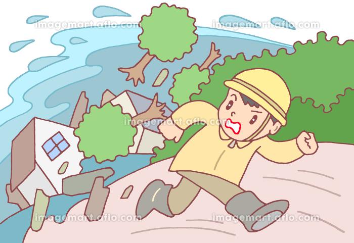 土砂災害・土石流の販売画像