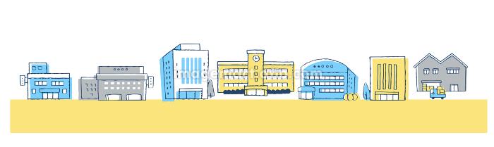 街並み ビル街の販売画像