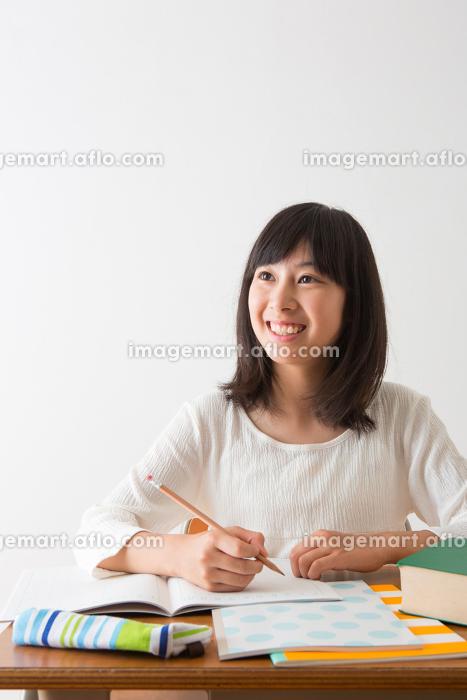 美少女のポートレートの販売画像