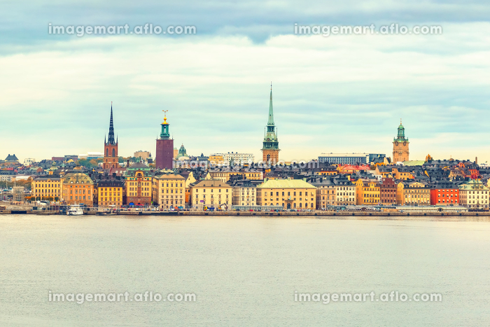 Panorama of the Old Town Stockholmの販売画像