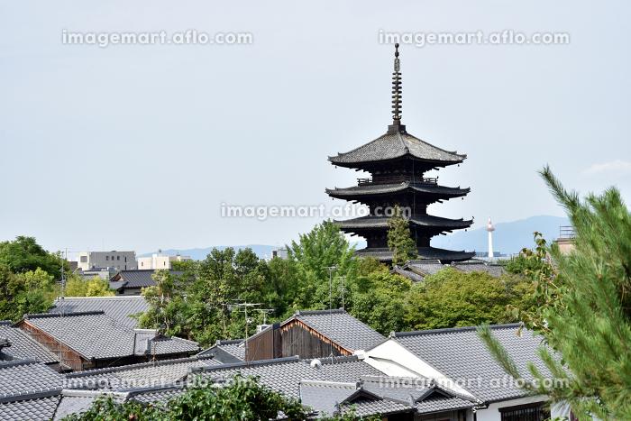 八坂の塔 京都市の販売画像