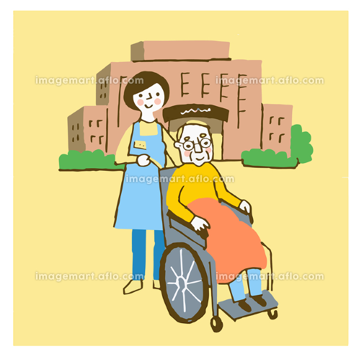 介護施設イメージの販売画像