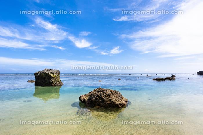 沖縄県宮古島、6月のボラガービーチ・日本の販売画像