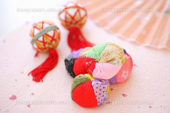 お手玉と手毬の販売画像