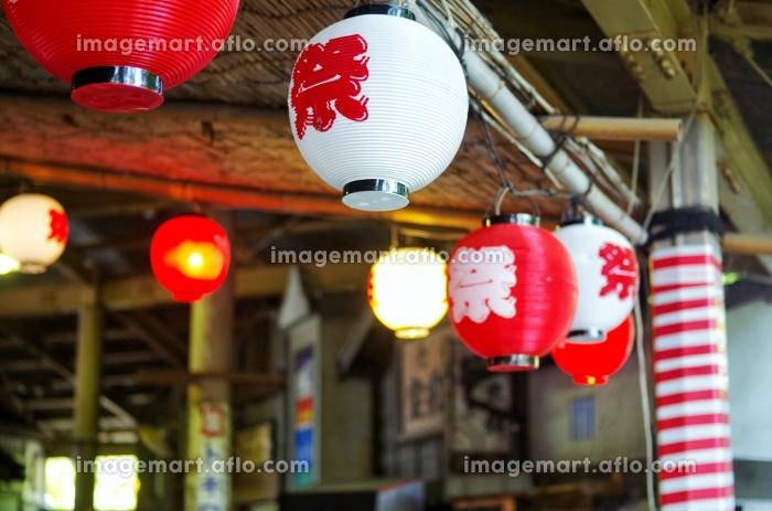 夏祭りイメージ 提灯の販売画像