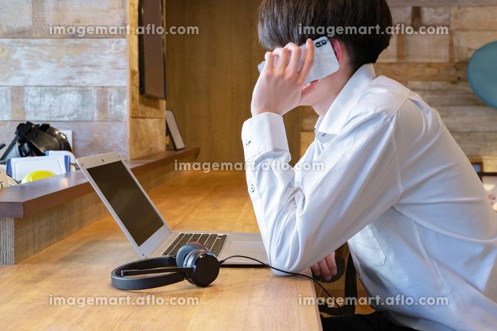 コワーキングスペース テレワーク シェアオフィス イメージの販売画像