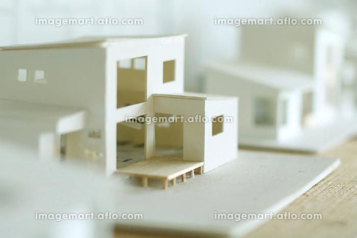 ミニチュアのマイホームの模型の販売画像