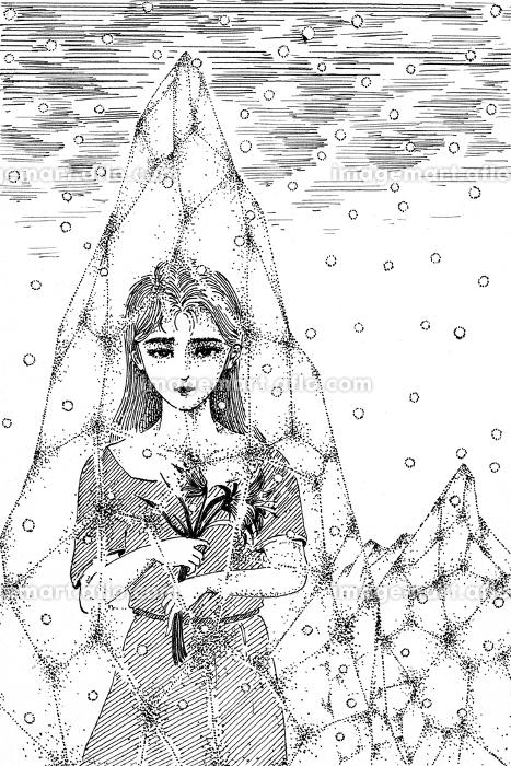 氷の中の少女の販売画像