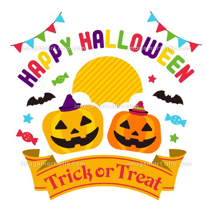 ハロウィーン・ハロウィン かぼちゃ・カボチャ イベントイラストの販売画像