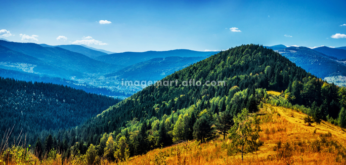 High beautiful mountainsの販売画像