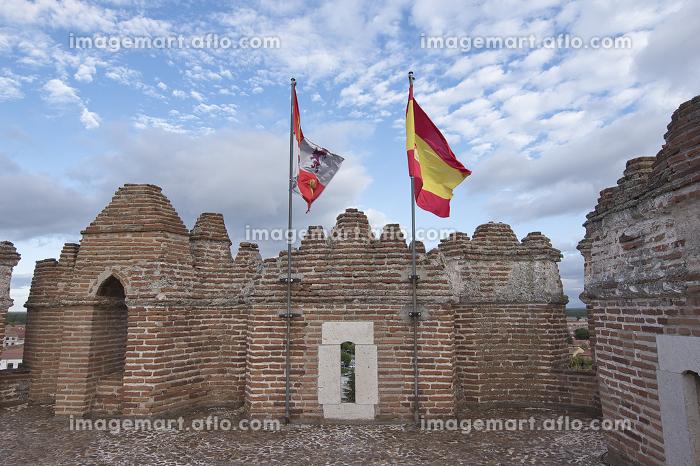 Coca Castle (Castillo de Coca) located in the province of Segoviaの販売画像