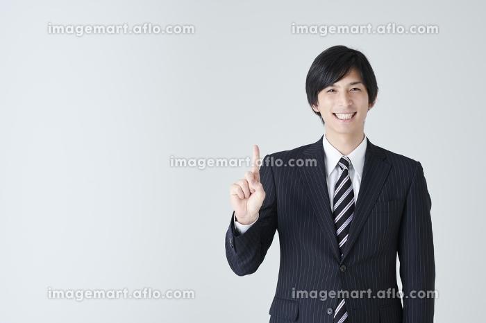 笑顔の日本人ビジネスマン