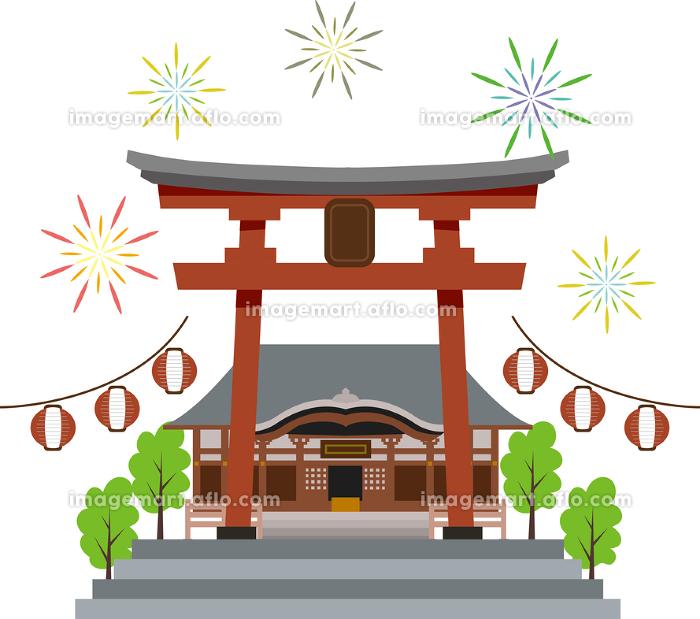 日本の夏祭りの販売画像