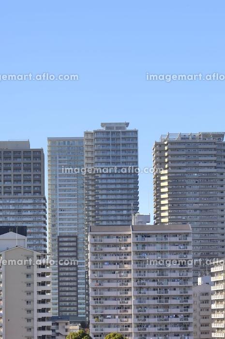 高層マンション群の販売画像