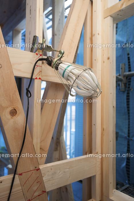 木造住宅の建設現場の販売画像